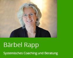 Bärbel Rapp, Systemisches Coaching - Beratung